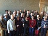Groepsfoto van de nieuwe lichting Dordtologen van de cursus 2019-II op 30-11-2019.